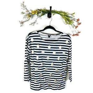 J. Crew | Long Sleeve Top Women's Size Medium EUC